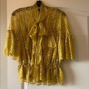 Robert Rodriguez lace blouse
